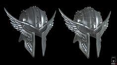 Fantasy Helm, CG Elric on ArtStation at https://www.artstation.com/artwork/fantasy-helm