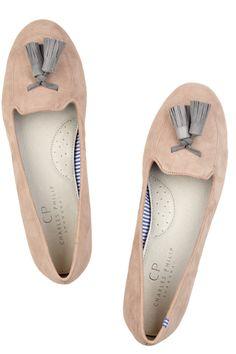 Charles Philip Shanghai Tasseled suede slippers NET-A-PORTER.COM