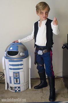 DIY de Star Wars fantasias para crianças: traje Han Solo de Am I uma menina engraçada?