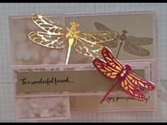 (3) Stampin Up! Dragonfly Dreams Bundle Stamping With DonnaG - YouTube