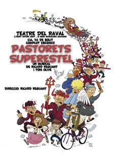 Pastorets Superestel al Teatre del Raval a Barcelona #Nadal #Christmas #Pastorets