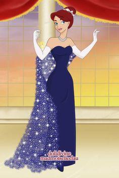 Anastasia's Opera Dress ~ by Carmi ~ created using the Princess doll maker | DollDivine.com
