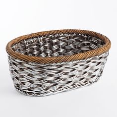 Greenwich Tall Oval Basket (Set of 2)