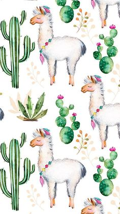 For the Love of Llamas! 10 Cutesy Llama iPhone Wallpapers<br> I found several super cute llama iPhone Wallpapers for the llama lover. these wallpapers are llama-mazing! Alpacas, Tumblr Wallpaper, Wallpaper S, Wallpaper Backgrounds, Seagrass Wallpaper, Paintable Wallpaper, Colorful Wallpaper, Painting Wallpaper, Watercolor Painting