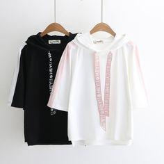 Kawaii Fairyland Hooded Short-Sleeve T-Shirt Kawaii Fashion, Cute Fashion, Girl Fashion, Fashion Outfits, Fashion Design, Lolita Fashion, Outfits For Teens, Trendy Outfits, Cool Outfits