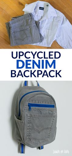 DIY Small Denim Backpack 2019 DIY Small Backpack The post DIY Small Denim Backpack 2019 appeared first on Denim Diy. Diy Denim, Artisanats Denim, Diy Jeans, Diy Purse Jeans, Recycle Jeans, Jean Backpack, Diaper Bag Backpack, Small Backpack, Diaper Bags