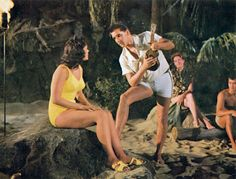 Elvis with his ukulele
