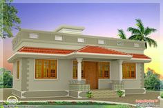 11 Best Small House Designs In Kerala Style Images Small