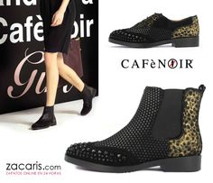 Tenemos nueva marca italiana CafèNoir ¿botines o blucher? Marca la diferencia #zacaris https://www.zacaris.com/cafenoir.htm
