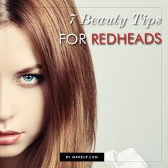 makeup for red heads