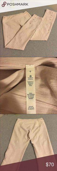 Lululemon size 6 leggings Excellent condition. No sign of wear. Very unique and hard to find! lululemon athletica Pants Leggings