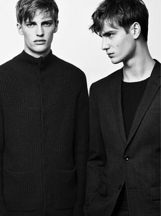 Aiden Andrews, Ben Allen and Victor Nylander front the Fall/Winter 2013 campaign of Filippa K, lensed by Lachlan Bailey and styled by Mattias Karlsson