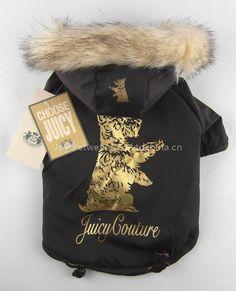 Juicy Couture dog coat