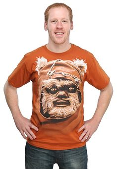 Ewok Big Face T-Shirt $19.99