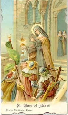 Virtual Novena to Saint Clare of Assisi