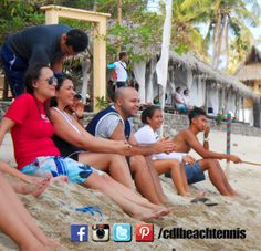 Relax... The best is yet to come.   Watch beach tennis with us and join the fun!   #philippinebeachtennis #beachtennisphilippines #PHBeachTennis #itsmorefuninthephilippines #fadysports #tobys #philippines #beaches #beachsport #fun #sand #summer #sun #sports #CDLbeachtennis #fady #beachtennis #Laluzresort #Laluzbeachresort #olympicbeachtennis