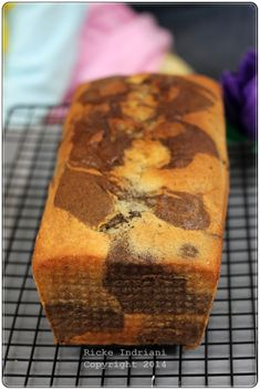 Marble Cake Recipes, Dessert Recipes, Orange Butter Cake Recipe, Steam Cake Recipe, Marmer Cake, Indonesian Desserts, Shortcake Recipe, Basic Cake, Oreo Cake