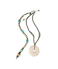 Tribal Turquoise Posture Reminder Necklace Washer Necklace, Beaded Necklace, Jewellery Display, Artisan, Turquoise, Beads, Collections, Jewelry, Products
