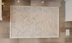 5 Sublime Ideas: Herringbone Backsplash Stone subway tile backsplash with mosaic.Marble Backsplash Under Hood. Decorative Tile Backsplash, Hexagon Backsplash, Travertine Backsplash, Beadboard Backsplash, Herringbone Backsplash, Backsplash Arabesque, Easy Backsplash, Kitchen Backsplash, Natural Stone Backsplash