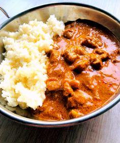 Butter chicken curry Butter Chicken Curry, Curry Recipes, Chana Masala, Ethnic Recipes, Food, Essen, Meals, Yemek, Eten