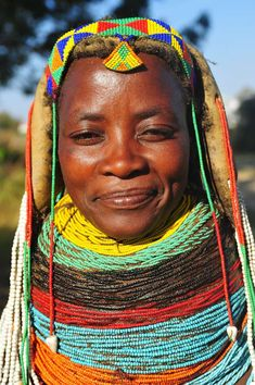 Tribal people from southwestern Angola