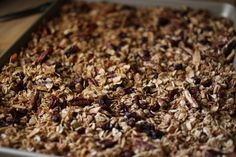 Granola - Our Breakfast Cereal - Oh Lardy!