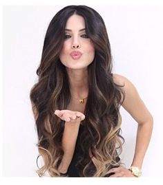 Leyla Milani beautiful Ombré hair ❤️