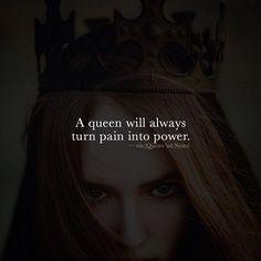 A queen will always turn pain into power. via (http://ift.tt/2fZffql)