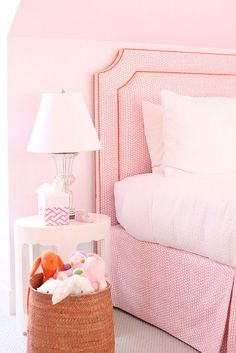 Pink on pink | Cynthia Brooks Design...Amelia room