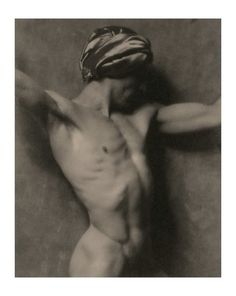 Mikhail Mordkin, Diaghilev's Ballets Russes dancer, 1922, by Nickolas Muray
