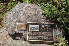 Bryan Station Marker, Orinda, California