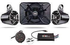 NOAM NUTV5-S – ATV / UTV Waterproof Speakers Bluetooth 2.1 Marine Stereo System
