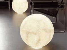 Lampada da terra in Nebulite® FLOOR MOON by In-es.artdesign