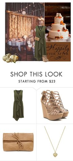 """""""Guest at a Fall Wedding"""" by cindycook10 ❤ liked on Polyvore featuring Adrianna Papell, LULUS and Michael Kors"""