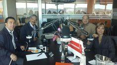 Norman Quijano y René Portillo Cuadra, fórmula presidencial por ARENA compartiendo en el programa de Pencho y Aida.