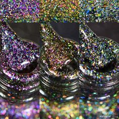 Painted Polish: Multi-chrome flakies with HOLO by simplynailogical