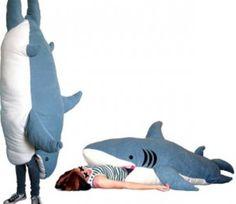 Big shark pillow: You can sleep in a SHARK!