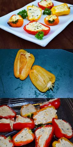 Lea's Cooking: Cream Cheese Stuffed Bell Peppers