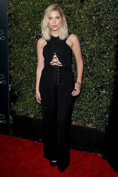 What Everyone Wore To The Pretty Little Liars Wrap Party #refinery29 http://www.refinery29.com/2016/10/128081/pretty-little-liars-wrap-party-fashion#slide-3