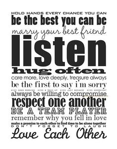 Marriage advice.. word