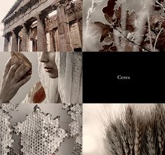 Greek Gods and their Roman counterparts | Demeter & Ceres 2/2