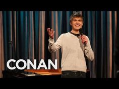 Comedian Bo Burnham wows the crowd with jokes, poems and a song; the comedy triumvirate! More CONAN @ http://teamcoco.com/video Team Coco is the official You...