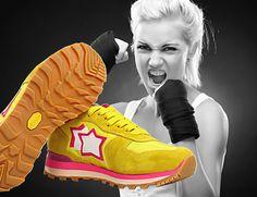 ATLANTIC STARS. Vega. Sneaker in suede and fabric with rubber sole VIBRAM. Col. Yellow. Sneaker in camoscio e tessuto con suola in gomma VIBRAM. Col. Giallo. For Sale Online and in Our Stores. In vendita Online e nei Nostri Negozi. MONTORSI BOUTIQUE. Modena. #atlanticstars #sneakers #shoes #scarpe #calzature #boutiquemontorsi #montorsimodena