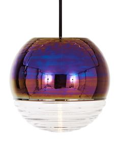 'Flask Oil Ball Pendant Light by Tom Dixon. @2Modern'