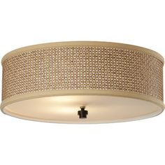 Bay Isle Home Greene 3 Light Flush Mount & Reviews | Wayfair