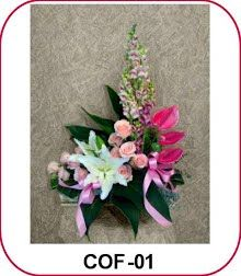 Table Flowers - Olivia Style - Florist Jakarta - Online Flower Shop :: Hotline 021-60503980, 021-94229037, Pin BB: 320F2810