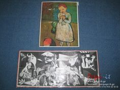 Γκουέρνικα - Picasso | Πόλεμος και Ειρήνη ! Guernica, Picasso, Cover, Projects, Books, Painting, Log Projects, Blue Prints, Libros