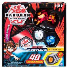 Bakugan Lot of 3 Random Brawlers Fast Shipping Different Shapes