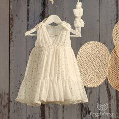 Βαπτιστικό Εκρού Φόρεμα Merilyn | Angel Wings 069 Girls Dresses, Flower Girl Dresses, Angel Wings, Christening, Girl Outfits, Wedding Dresses, Clothes, Fashion, Dresses Of Girls