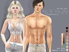 Sims 4 CC's - The Best: Skin by Pralinesims